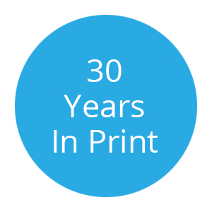 30 Years Working In Print Badge